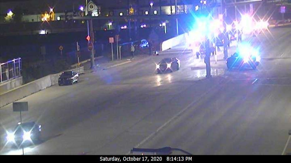 Milwaukee man arrested for 5th OWI after pursuit, crash (Credit: Wisconsin Department of Transportation)