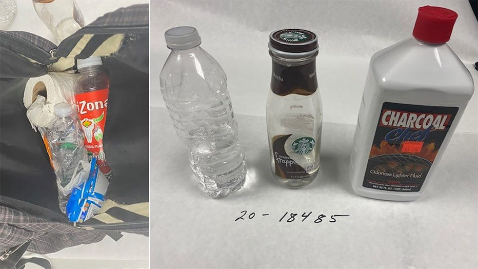 Items recovered during an arrest in Wauwatosa on Oct. 9