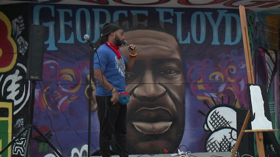 A Milwaukee event on Wednesday, Oct. 14 celebrated the life of George Floyd on what would have been his 47th birthday