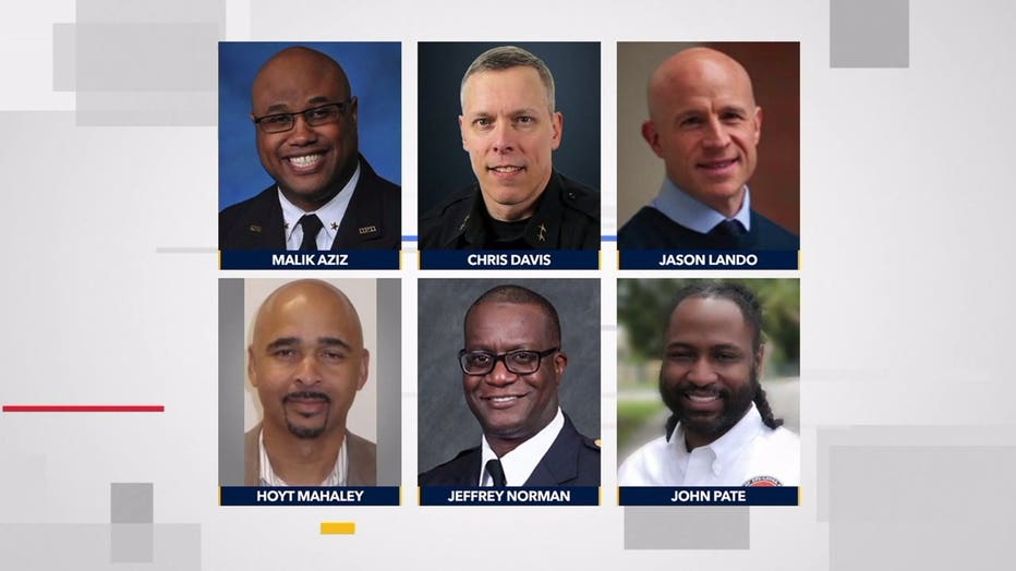 MPD chief candidates