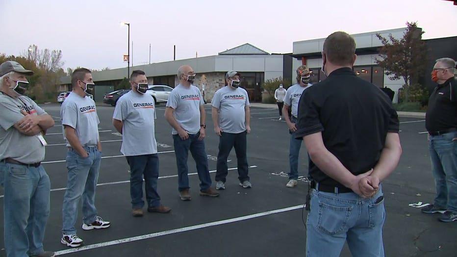 Generac storm response team