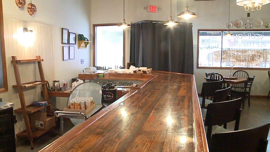 Bar at Lazy Susan