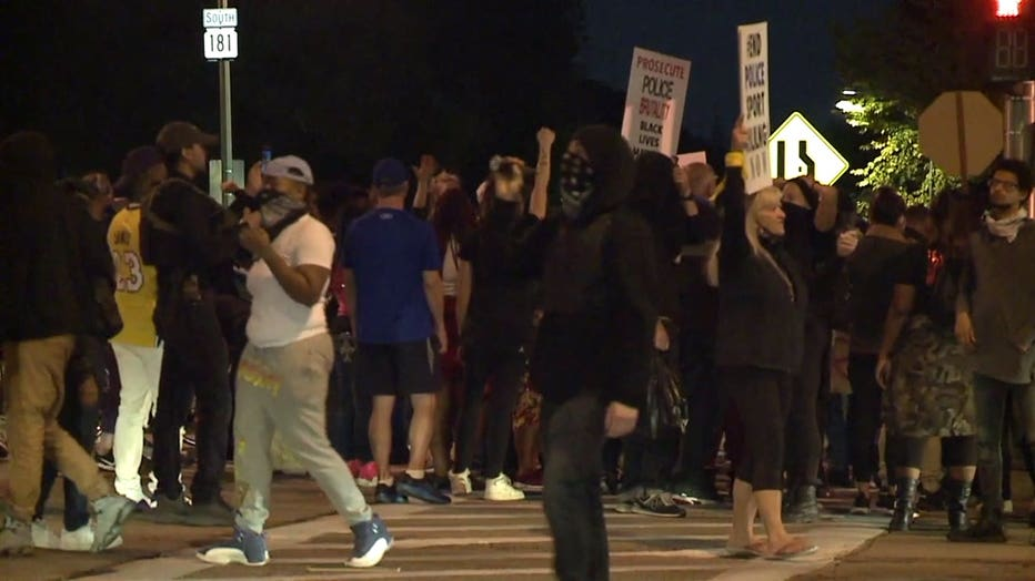Protests in Wauwatosa
