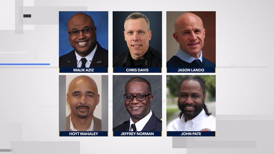 Candidates for Milwaukee police chief