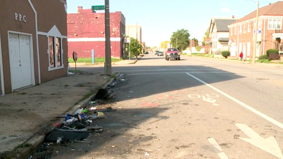 Fatal crash near 24th and Center