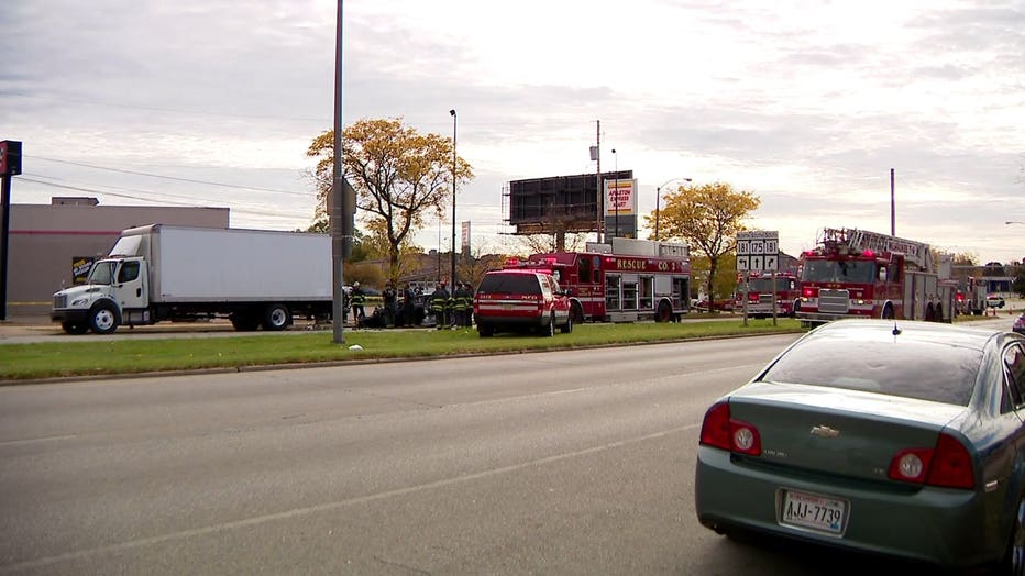 Crash near 76th and Appleton, Milwaukee