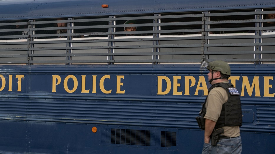 getty-detroit-protesters-detained-102020