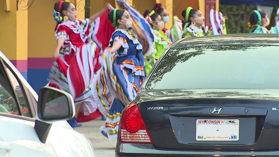 Drive-thru event raises money for Wisconsin Hispanic Scholarship Foundation