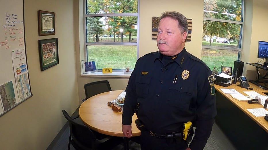 Pleasant Prairie Police Chief David Smetana