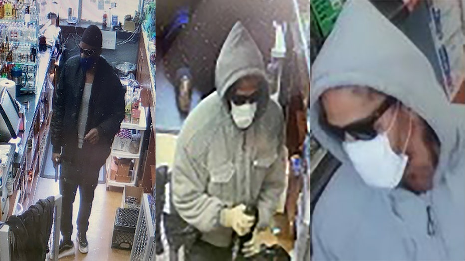 Suspects in robbery of Arya's convenience store in Kenosha