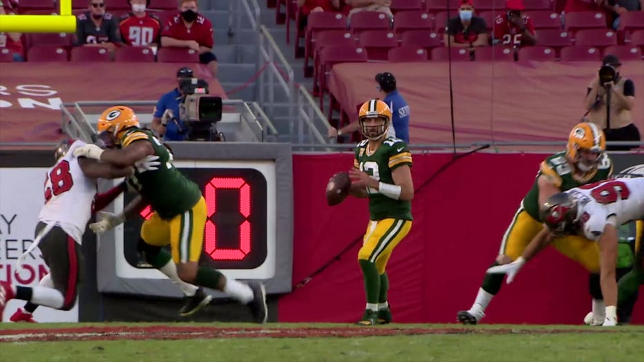 Green Bay Packers vs. Tampa Bay Buccaneers