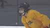 High school hockey player returns to ice after double hip surgery