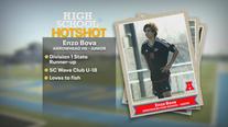 Soccer player Enzo Bova takes field for Arrowhead, club teams