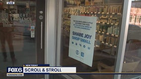 Scroll & Stroll for Small Business Saturday on the east side