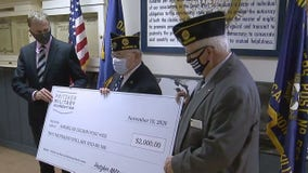 Legion Post in Somers gets pre-Veterans Day surprise