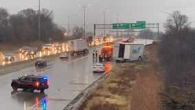 MCSO: Lanes closed on NB I-41 due to jack-knifed semi-tanker
