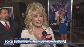 How Dolly Parton helped the pursuit of COVID-19 vaccine