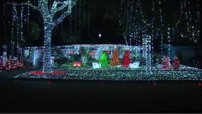 Orlando couple honors COVID-19 victims with 220k Christmas light display