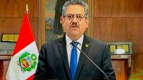 Peru's interim president, Manuel Merino, announces resignation after national upheaval