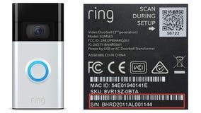 Ring recalls 350,000 video doorbells after some catch fire
