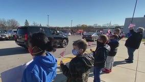 Menomonee Falls students celebrate veterans with parade