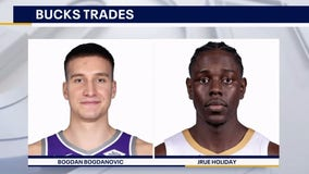 AP Source: Bucks reach deals to acquire Jrue Holiday, Bogdan Bogdanovic