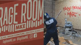 Rage Room MKE: Smash away the stress of 2020 'in a safe space'