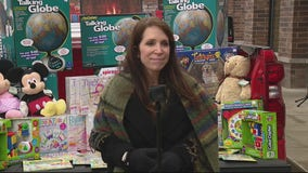 Out of business toy store owner donates everything to charity for kids battling cancer