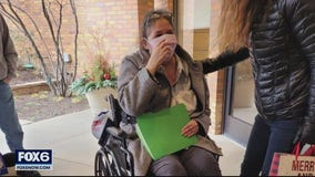 Racine woman returns home after months-long COVID-19 fight