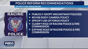 Racine police reform task force reveals 10 recommendations