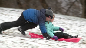 Snowy weather sparks new season of outdoor activities