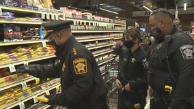 MCSO goes holiday meal shopping for in-need families