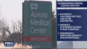 Aurora Grafton says discarded COVID-19 vaccine incident was intentional