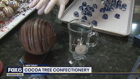 There's a new in Mequon that makes hand-painted chocolate