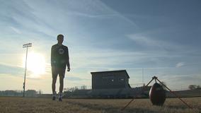 Juneau kicker's booming leg turns heads, draws national attention