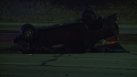 MCSO: Driver hurt after rollover crash on NB I-43 at North Avenue