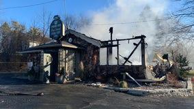 Fire destroys Pewaukee landmark, Michael's House of Prime