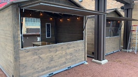South Shore Terrace Winter Beer Garden chalets now open to public