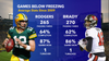 Aaron Rodgers vs. Tom Brady: How well the QBs play in cold weather