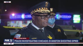 One man responsible for 3 random murders and other shootings in Chicago, Evanston, police say