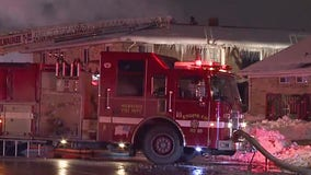 Fire crews called to 2-alarm fire near 91st and Silver Spring