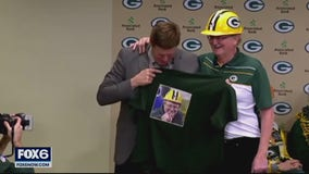 Foundation honors Packers FAN Hall of Famer from Union Grove