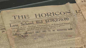 100 years in the waiting: Horicon Schools opens capsule from 1921