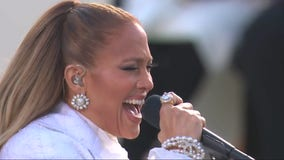 Jennifer Lopez performs on Inauguration Day | Inauguration Day 2021