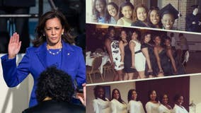 VP Harris's AKA sorors 'overtaken by emotion' during inauguration