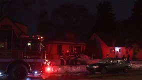 Family displaced by house fire on Milwaukee's north side