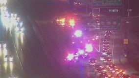 All lanes reopen after crash closes I-94 WB in Brookfield