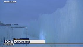 Explore the Ice Castles in Lake Geneva
