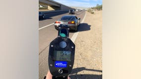 Arizona driver arrested for driving 155 mph on I-10, DPS says