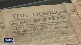 Horicon Schools opens capsule from 1921